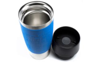 Emsa Travel Mug - Deckel neben Becher - 320x200